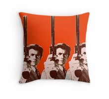 Eight Eastwoods Throw Pillow
