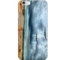 A Stormy September Evening HDR - The 2 Lancasters  iPhone Case/Skin