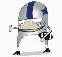 Football Cartoon Chibi Cowboys Kids Clothes
