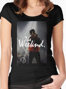 The Weeknd Women's Fitted Scoop T-Shirt