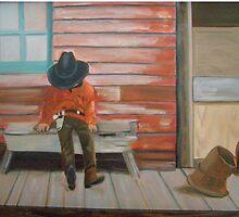 """""""Colin it a day"""" by Lynn Ahern Mitchell"""