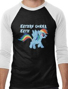 Haters Gonna Hate Men's Baseball ¾ T-Shirt