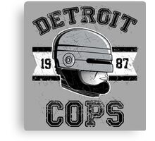 Cops team Canvas Print