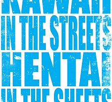 Kawaii in the Streets... (BLUE) by Penelope Barbalios
