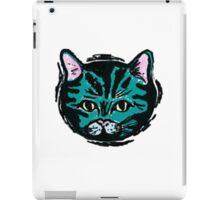 one very blue cat iPad Case/Skin