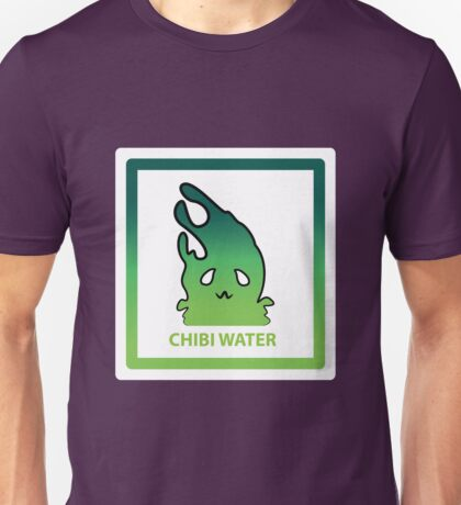 Chibi Water 2 Green Unisex T-Shirt