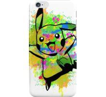 Cute Pikachu Spraypaint Graffiti Tshirts + More! iPhone Case/Skin