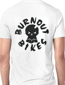 Burnout Bikes - Black Logo Unisex T-Shirt