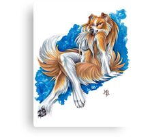 Collie Girl Canvas Print