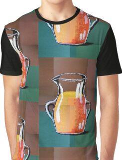 Vincent Van Gogh-Vase mit Orangensaft (Acryl-Malerei) Graphic T-Shirt