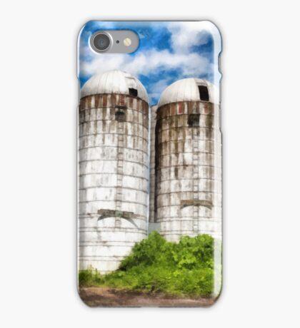 Vermont Silos iPhone Case/Skin