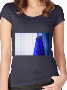 Blue water bottle Women's Fitted Scoop T-Shirt