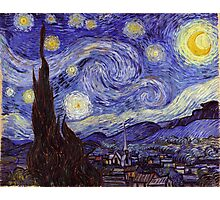 Vincent Van Gogh Starry Night Photographic Print
