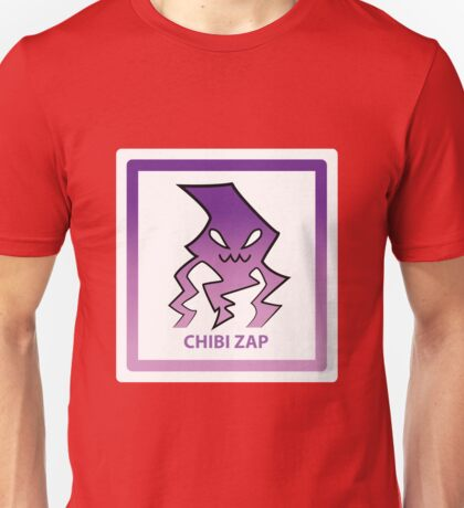 Chibi Zap 6 Purple Unisex T-Shirt