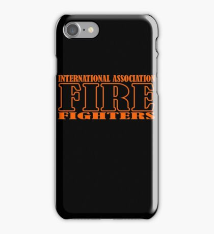 IAFF - International Association of Fire Fighters iPhone Case/Skin