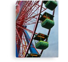 Cedar Point - Giant Wheel Cabins Canvas Print