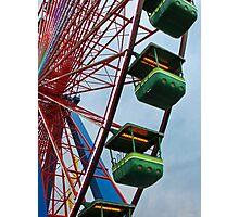 Cedar Point - Giant Wheel Cabins Photographic Print