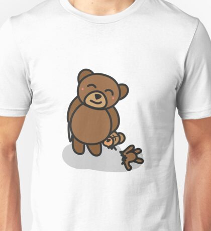 A mischievous grin  Unisex T-Shirt