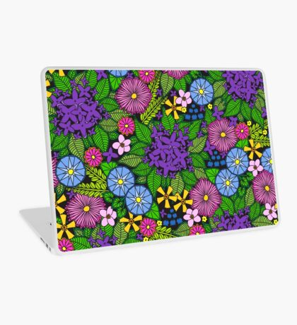 Wild Wildflowers Laptop Skin