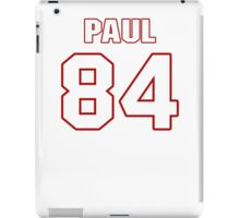 NFL Player Niles Paul eightyfour 84 iPad Case/Skin