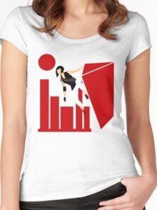 Runner Women's Fitted Scoop T-Shirt