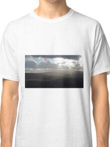 Rolling hills, cloudy sky Classic T-Shirt