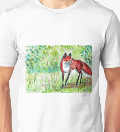 Zen Fox Firth Unisex T-Shirt