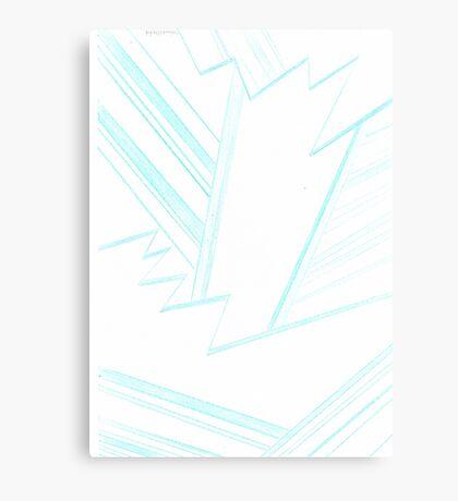 Abstract Genius Scientist Canvas Print