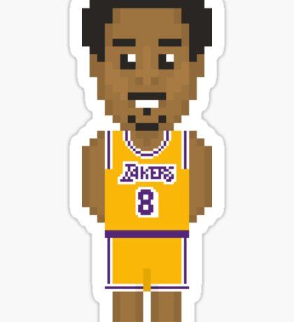 Kobe Bryant - Los Angeles Lakers 96' Sticker