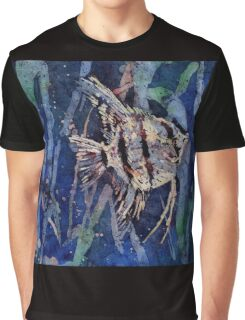 Angelfish- watercolor painting Graphic T-Shirt