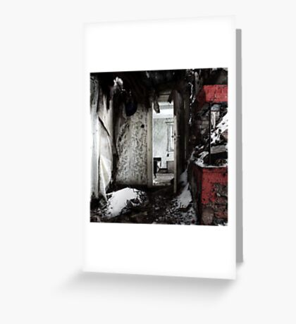 14.1.2017: Snow in the House Greeting Card