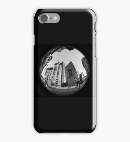 Liverpool street houses iPhone Case/Skin