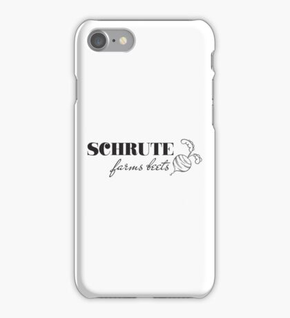 the office dwight schrute qutoes tv show t shirts iPhone Case/Skin