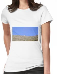 Rambling sheep Womens Fitted T-Shirt