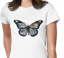 Butterfly Collections Womens Fitted T-Shirt