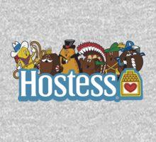 Hostess Mascots by chachi-mofo