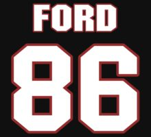 NFL Player Chase Ford eightysix 86 by imsport