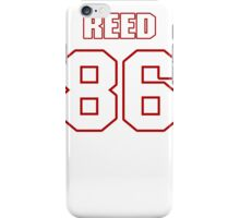 NFL Player Jordan Reed eightysix 86 iPhone Case/Skin