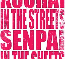 Kouhai in the Streets... (PINK) by Penelope Barbalios