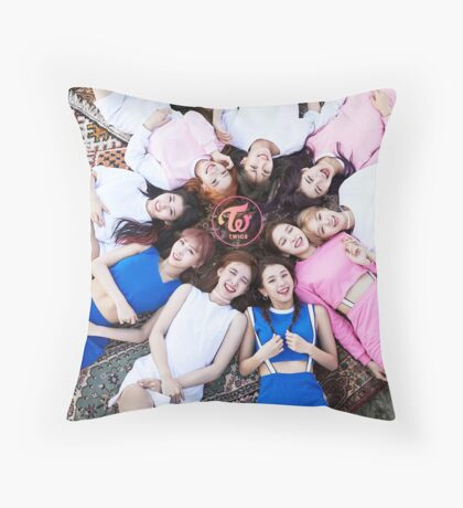 TWICE TT Throw Pillow