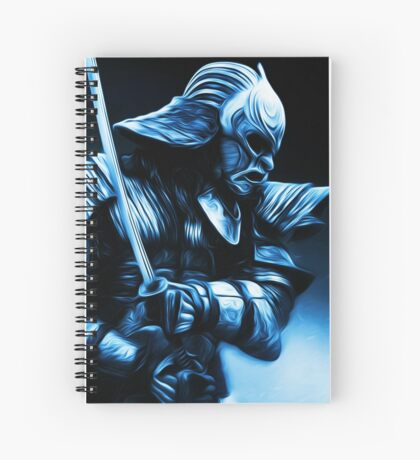 Samurai Warrior Spiral Notebook