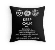 SUPERNATURAL - SPEAKING LATIN Throw Pillow