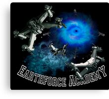 Earthforce Academy Canvas Print