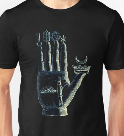 Hand of the Philosopher (black) Unisex T-Shirt