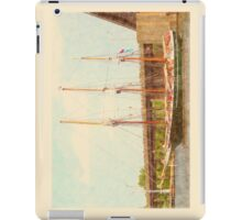 S/V Denis Sullivan - Heading Up the Saginaw River iPad Case/Skin