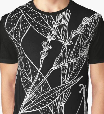 Britton And Brown Illustrated flora of the northern states and Canada 1089 Persicaria setacea BB 1913 Graphic T-Shirt