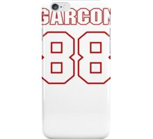 NFL Player Pierre Garcon eightyeight 88 iPhone Case/Skin