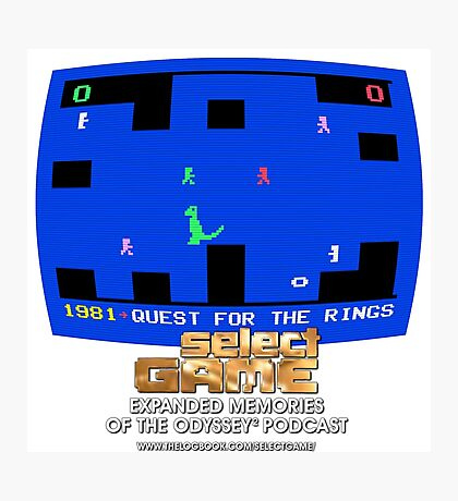 Select Game Podcast: Quest For The Rings Photographic Print