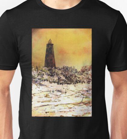 Old Baldy Lighthouse- North Carolina Unisex T-Shirt