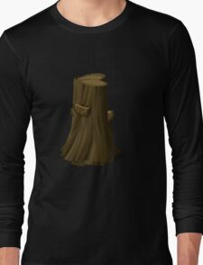 Glitch Harvestable resources wood tree enchanted Long Sleeve T-Shirt